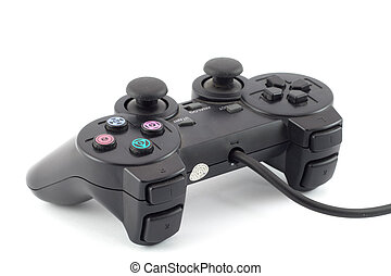 Joystick - Gaming joypad isolated on white backgroud