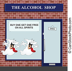 spirits - Buy one get one free on all spirits