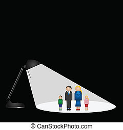 family in the spotlight - Representation of the family in...