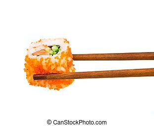 japoneses, sushi