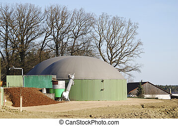 Bio Energy - Renewable energy with biogas production