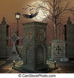 graveyard - 3d