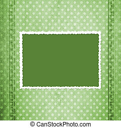 Abstract green jeans backgro