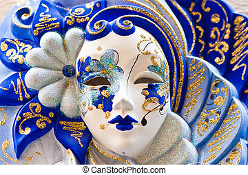 Impressive Venetian Mask - The masks are typically worn...