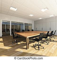 Meeting room - Rendering of modern meeting room