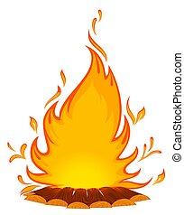 conflagrant, fuego