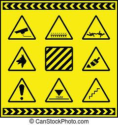 Hazard Warning Signs 2