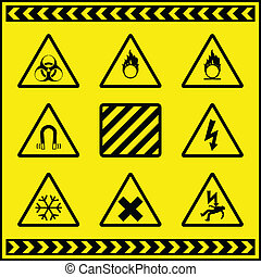 Hazard Warning Signs 3
