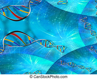 DNA strands
