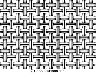 Grid pattern - Pattern of metal grid as white background,...