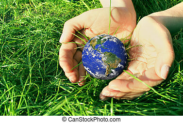 Holding  Earth