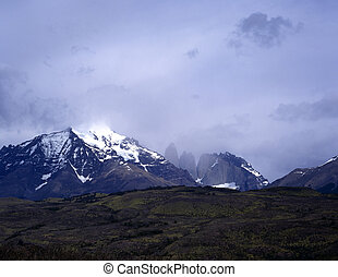 Torres del Paine in Patagonia, Argentina - Mountains, Torres...