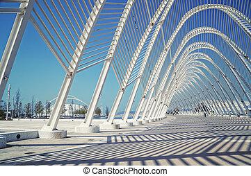 Athens Olympic Stadium.