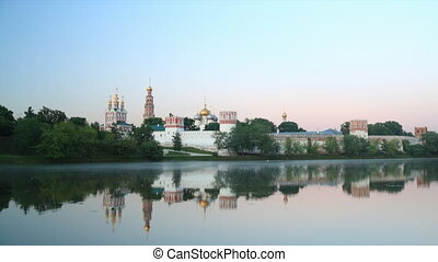 Novodevichy Convent sunrise time la - Novodevichy Convent in...