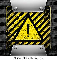 Warning Symbol Vector illustration