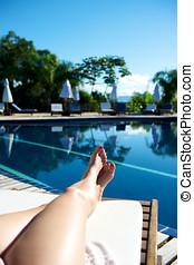 Resort in Porto Belo in Santa Catarina state, Brazil.