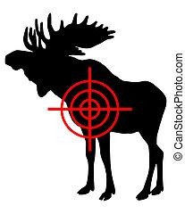 Moose crosshair