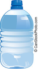 bottle(0).jpg - realistic illustration with a bottle of...