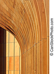 Architecture abstract background - Architecture wood...