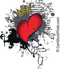 heradic heart for tshirt3 - heradic heart for tshirt in...
