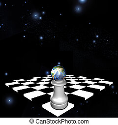 world chess pawn