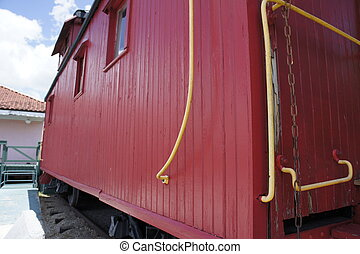 caboose - picture of a caboose