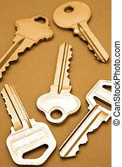 Keys - Five keys