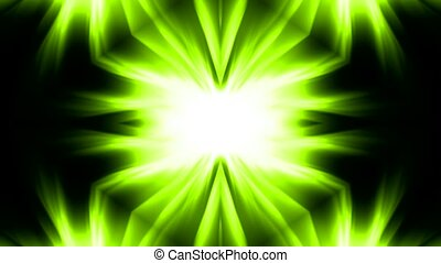 green flower disco pattern,wedding