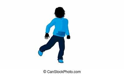 Teen Urban Male Dancing