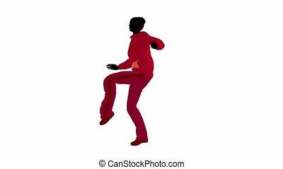 Urban Female Dancing