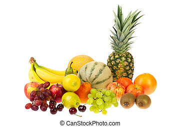 Fruit still life - Still life with various kinds of fresh...