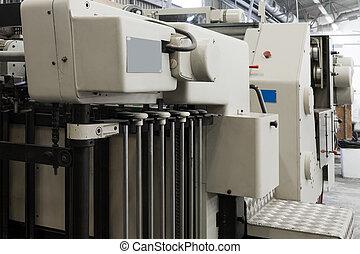 印刷品, 設備