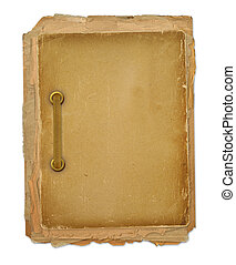 Grunge frame for old portrait or picture in scrapbooking...