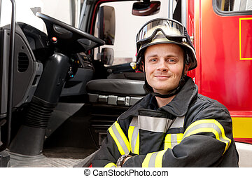 Firefighter - Picture from a young and successful...