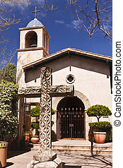 Tlaquepaque Chapel in the heart of Sedona, Arizona