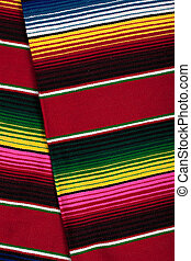 Mexican serape as a background - a Mexican Serape as a...
