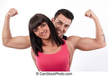 I'm stronger than women!