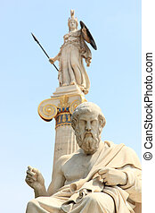 statue of Plato from the Academy of Athens