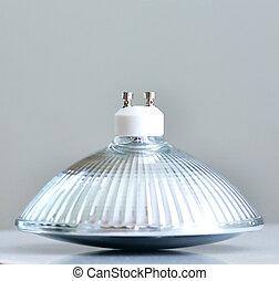 Halogen bulb - This photograph represent a halogen bulb