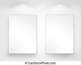 blank gallery art
