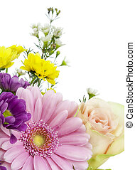 Flowers for the beloved postcard - Springs flowers for the...