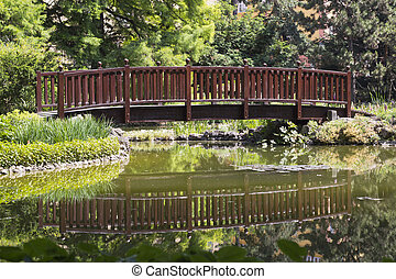 Bridge on a lake