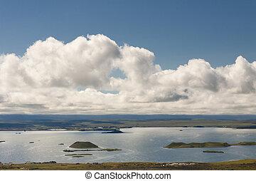 Myvatn landscape - Iceland.