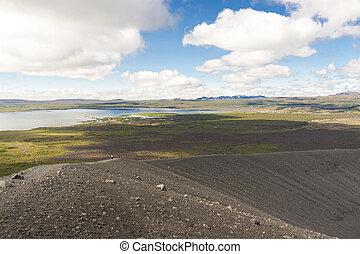 Iceland - Myvatn lake