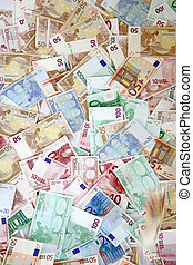 Huge amount of Euros - all varieties bills - Huge amount of...