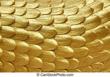 religious golden scales