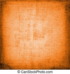 Abstract orange shabby backdrop for decorative design