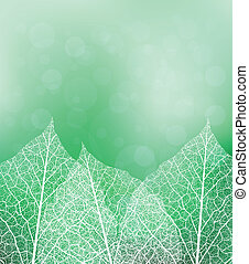 Nature theme background - Nature theme vector background...