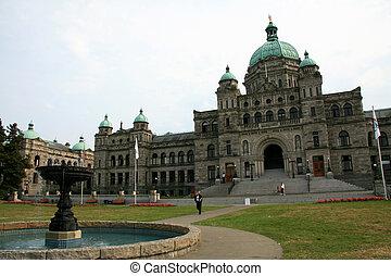 Parliament Buildings, Victoria, BC, Canada - Parliament...