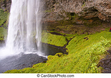 Seljalandsfoss waterfall - Iceland - Part of beauty big...